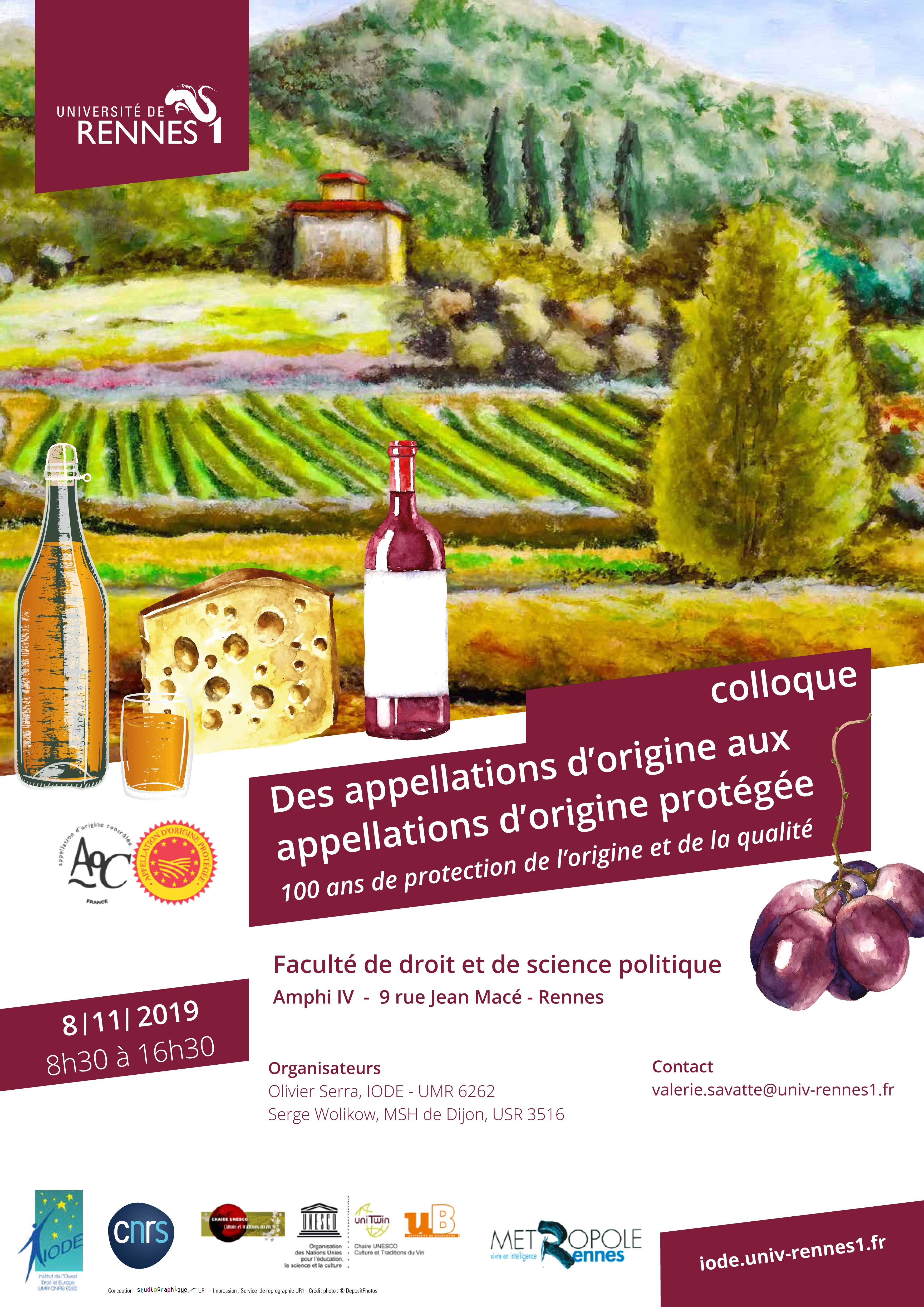 Affiche colloque AO